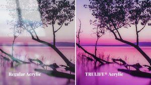 Regular Acrylic vs TruVue