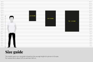 Size guide +597 Photography