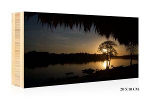 Calm Waters by Fabian Vas | +597 Photography Bamboo Wood Print
