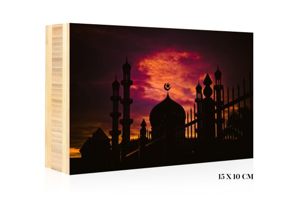 Mosque by Harvey Lisse | +597 Photography Bamboo Wood Print